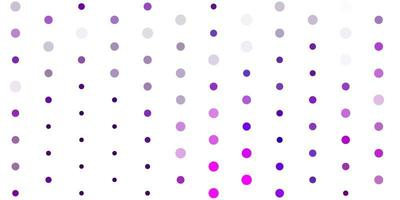 Light pink vector backdrop with dots.
