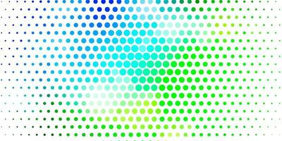 Light Blue, Green vector layout with circle shapes.