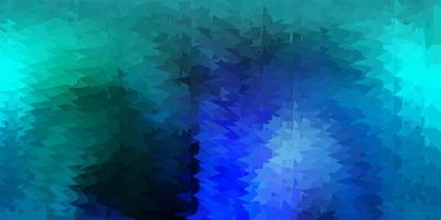 Light blue vector gradient polygon layout.