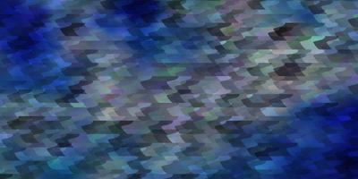 plantilla de vector azul claro, verde con rectángulos.