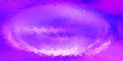 Light purple vector abstract triangle texture.