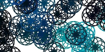 Light Blue, Green vector texture with disks