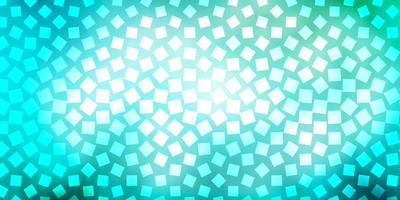 diseño de vector azul claro, verde con líneas, rectángulos.