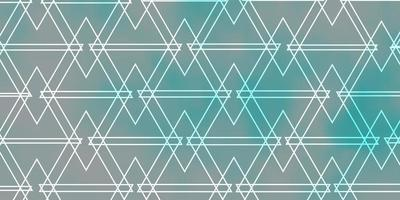 Light BLUE vector layout with lines, triangles.