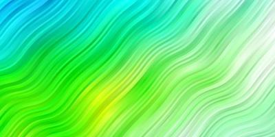 patrón de vector azul claro, verde con líneas.