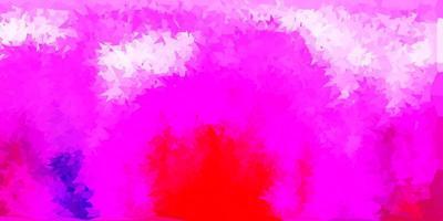 diseño poligonal geométrico del vector púrpura claro, rosado.