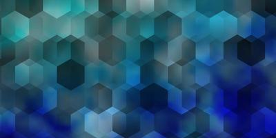 Light BLUE vector layout with hexagonal shapes.
