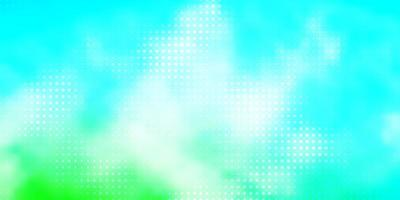 Light Blue, Green vector template with circles.