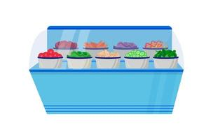 Vegetable counter vector object