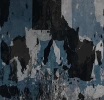 Textura de pared abstracta de pintura desconchada foto