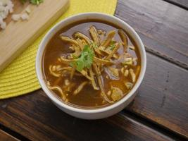 Traditional tortilla soup