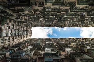 edificio de apartamentos de hong kong