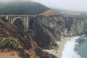 Iconic Bixby Bridge at Big Sur