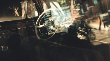 Germany, 2020 - Reflection on a window of a classic car