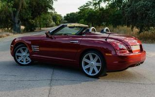 Chrysler Crossfire en la carretera
