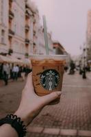 vaso desechable de Starbucks