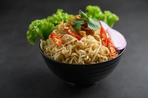 Homemade Thai style noodles