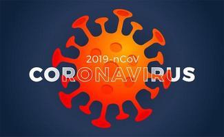 Coronavirus. Virus. Covid-2019. Outbreak Coronavirus. Pandemic, Medical, Healthcare, Infectious, Virology, Epidemiology Concept. Coronavirus 2019-ncov. 3d Background. Illustration.