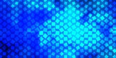 Fondo de vector azul claro en estilo poligonal.