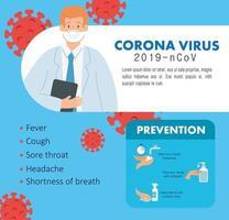 banner de prevención de coronavirus