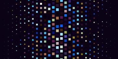 Fondo de vector azul claro, amarillo en estilo poligonal.