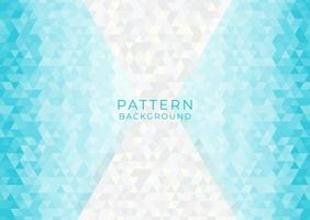 Pattern background geometric triangle shapes vector