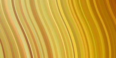 Light Orange vector backdrop with curves.