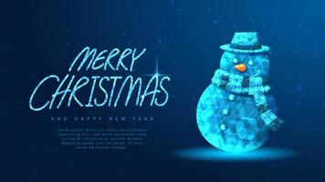 Merry Christmas banner concept
