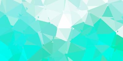 Light green vector geometric polygonal wallpaper.