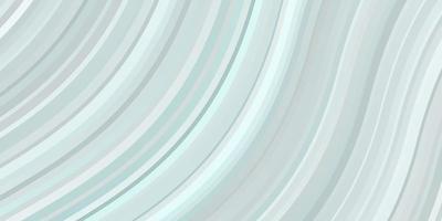 patrón de vector azul claro con líneas torcidas.