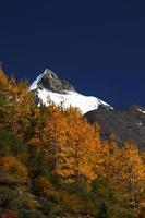 Himalaya mountains in autumn photo