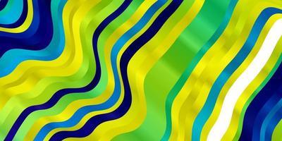 diseño de vector multicolor claro con arco circular.
