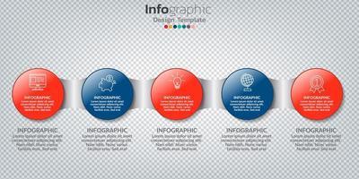 infografía en concepto de negocio con 8 opciones, pasos o procesos. vector