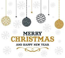 Backgrounds And Textures Merry Christmas vector