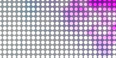 Light Purple vector template with circles.
