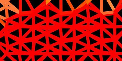 Light red vector abstract triangle pattern.