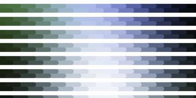 plantilla de vector azul claro, verde con líneas.