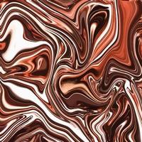 Liquid marble texture with abstract background vector