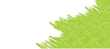 Virus theme background design vector