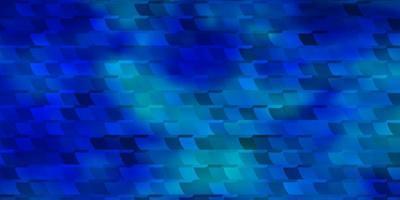 patrón de vector azul claro en estilo cuadrado.