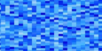 telón de fondo de vector azul claro con rectángulos.