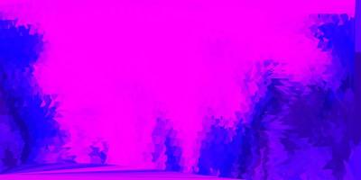diseño poligonal geométrico del vector púrpura claro.