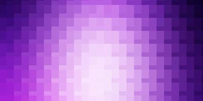 Fondo de vector púrpura claro en estilo poligonal.