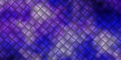 Light Purple vector template with rectangles.