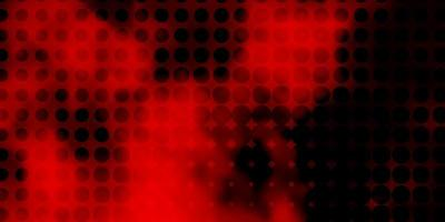 Dark Red vector layout with circle shapes.