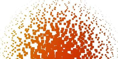 Light Orange vector template in rectangles.