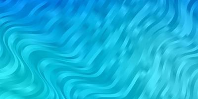 Light BLUE vector background with wry lines.