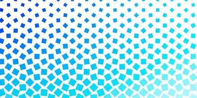 Light BLUE vector backdrop with rectangles.
