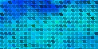 Light BLUE vector pattern in square style.