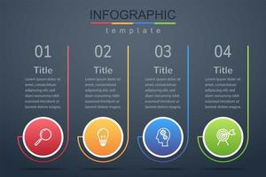 Modern infographic corporate and business banner template